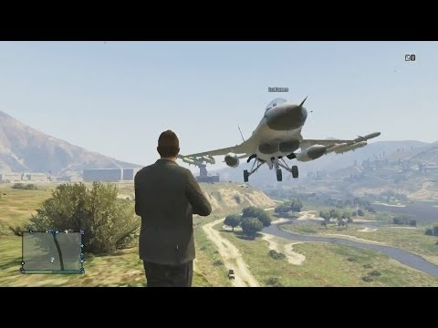The Ultimate Jet Stunt Team! - Grand Theft Auto 5