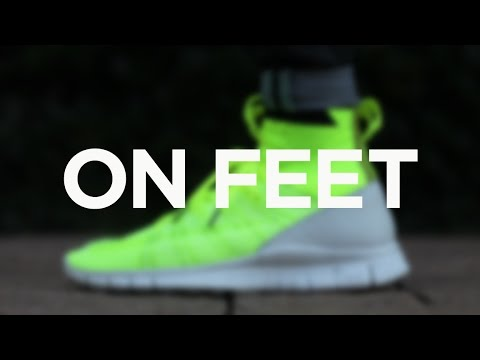 buy online 0048a 0d968 ON FEET Nike Free Mercurial Superfly by HTM - Volt