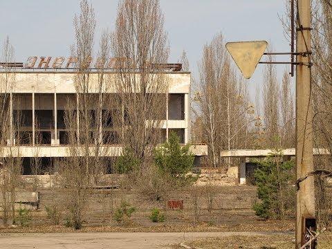 Путешествие по Припяти #2. Центр / Trip in Pripyat #2. Center