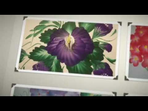 Laminas Para Pintar Flores Con Pinceladas No Necesitas Es