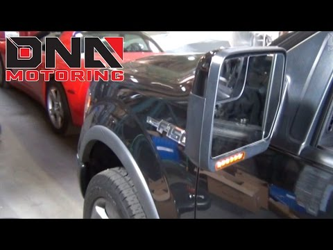 How to install 09-14 Ford F-150 Side Mirror Lights