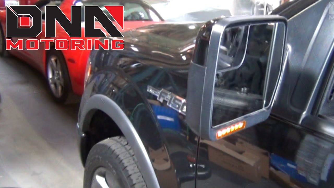 Dna Motoring 09 14 Ford F 150 Side Mirror Light Installation Youtube