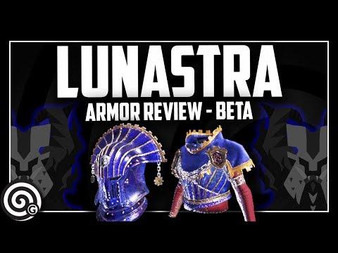 LUNASTRA BETA - Armor Set Review | Monster Hunter World thumbnail