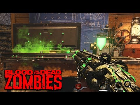 BLOOD OF THE DEAD: Acid Gat Kit All Parts & Guide! (Black Ops 4 Zombies Blood of the Dead)