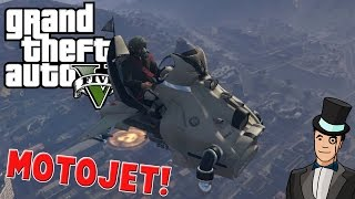 GTA 5 Mods - MOTOJET MOD - Amazing Flying Death Machine! GTA V PC Gameplay
