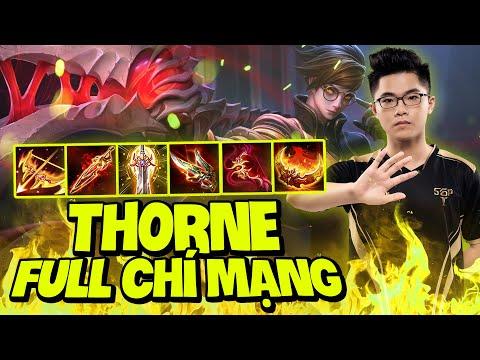 Lai Bâng Cho Cá Gaming Thấy Thorne Full Chí Mạng Bá Đạo NTN Ở Rank Thách Đấu !!!