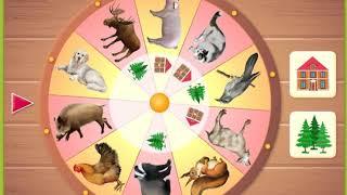 """Детская развивающая игра """"Дикие или домашние животные"""""""