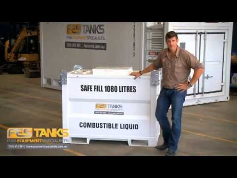 Small Self Bunded Fuel Tanks - 1,000l - 13,000l Fuel Storage Tanks