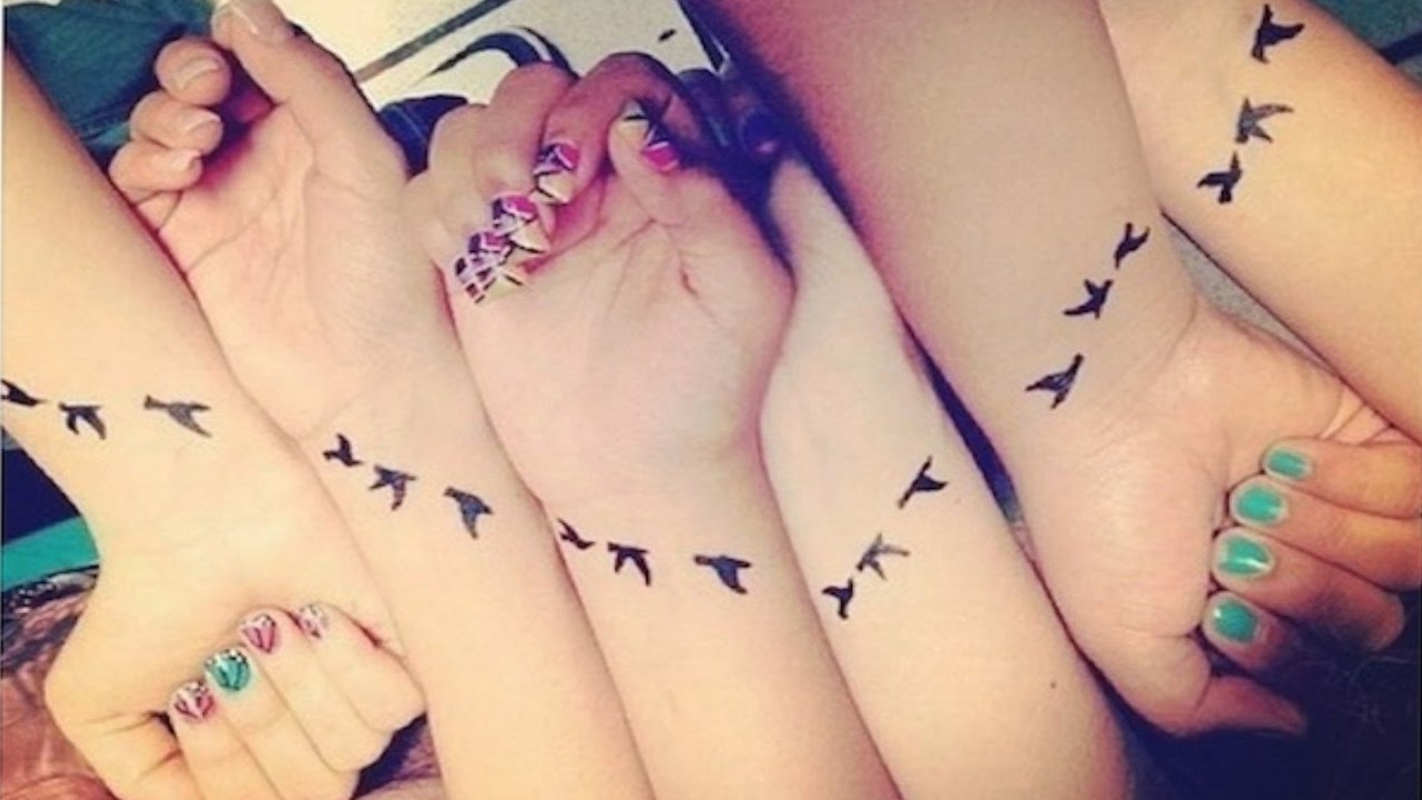 25 Best Friend Tattoo Ideas - YouTube