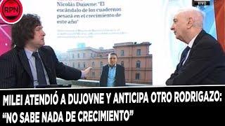 Milei atendió a Dujovne y anticipa otro Rodrigazo: