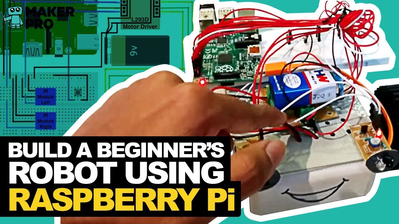 How to Build a Beginner's Robot Using Raspberry Pi