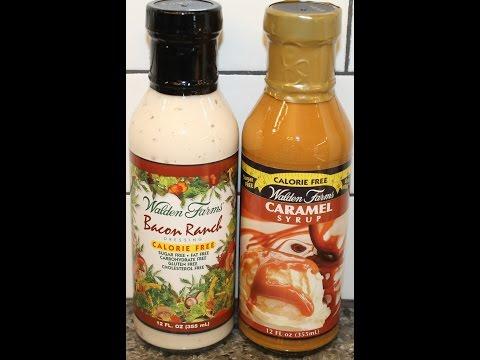 Walden Farms: Bacon Ranch Dressing & Caramel Syrup Review