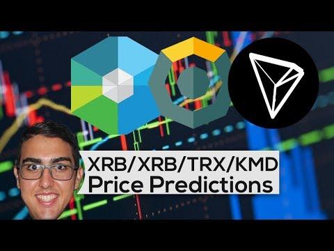 Price Predictions: RaiBlocks ($XRB), Tron ($TRX), Komodo ($KMD), OmiseGO ($OMG), BitShares ($BTS)!
