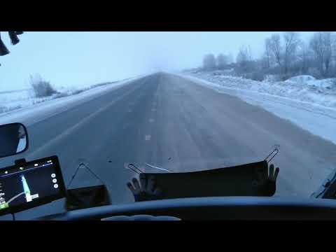Дальнобой по России.Дорога на север(ч1).Первая остановка Тобольск.