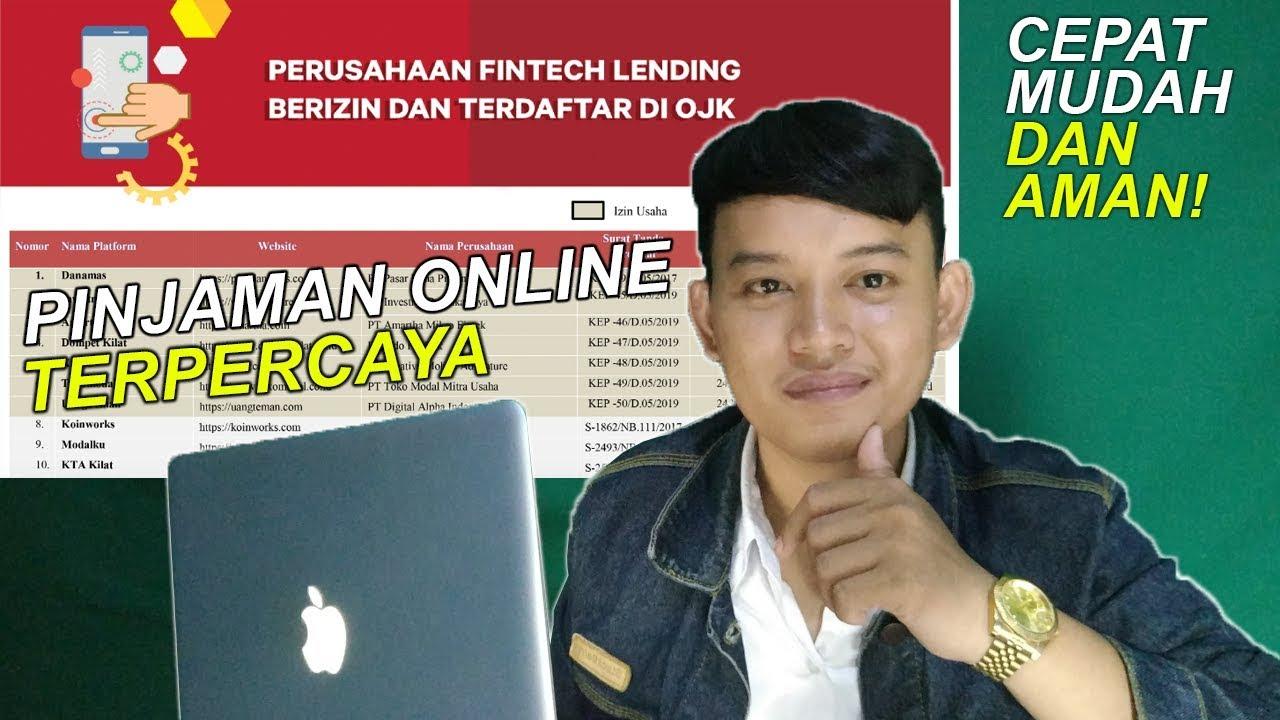 Pinjaman Uang Online Yang Terdaftar Di Ojk Youtube