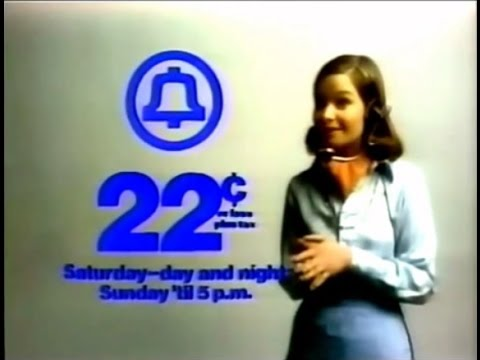 Bell Telephone '22 Cents' Commercial (1975)