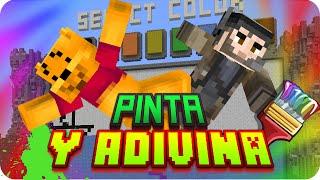 ¡ARRASANDO EN PINTA Y ADIVINA! | Minecraft Draw My Thing - Gona y Luh