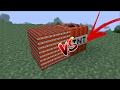 1000 MINI TNT'S VS TNT : MINECRAFT ( SMALLEST TNT )
