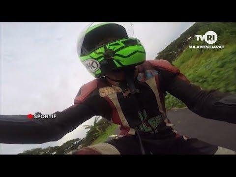 Balap Motor Road Race Polewali Mandar | Sportif | TVRI Sulbar, Mei 2019