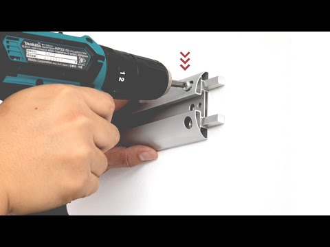 BIKE STORAGE: How to install 6 Bike Wall Rack by PRO BIKE TOOL - Plasterboard, Stud, Wood Wall