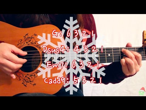 """Mistletoe"" - Justin Bieber EASY Guitar Tutorial [Chords/Strumming/Picking/Cover] (No Capo Option!)"