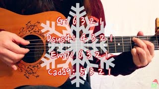 """Mistletoe"" - Justin Bieber EASY Guitar Tutorial/Chords (No Capo Option!)"