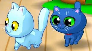 МОЙ ПРИЮТ для КОШЕК #4 мультяшная игра про котят с Кидом. Кормим и ухаживаем за котами #ПУРУМЧАТА