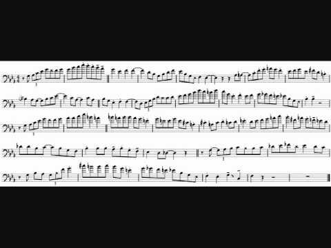 Elliot Mason 'But Not For Me' Trombone Solo Transcription