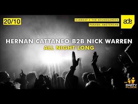 Hernan Cattaneo b2b Nick Warren - Live @ Soundgarden & Sudbeat, ADE - 20-10-2017