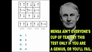 Think you're smart? Dare to take this IQ test with hardest questions II Fun brain test II IQ quiz
