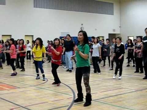 Go Jaded (Walk Thru & Danced) ~ @ Winnie Yu's EZ Beginner Line Dance Workshop - Jan 2011