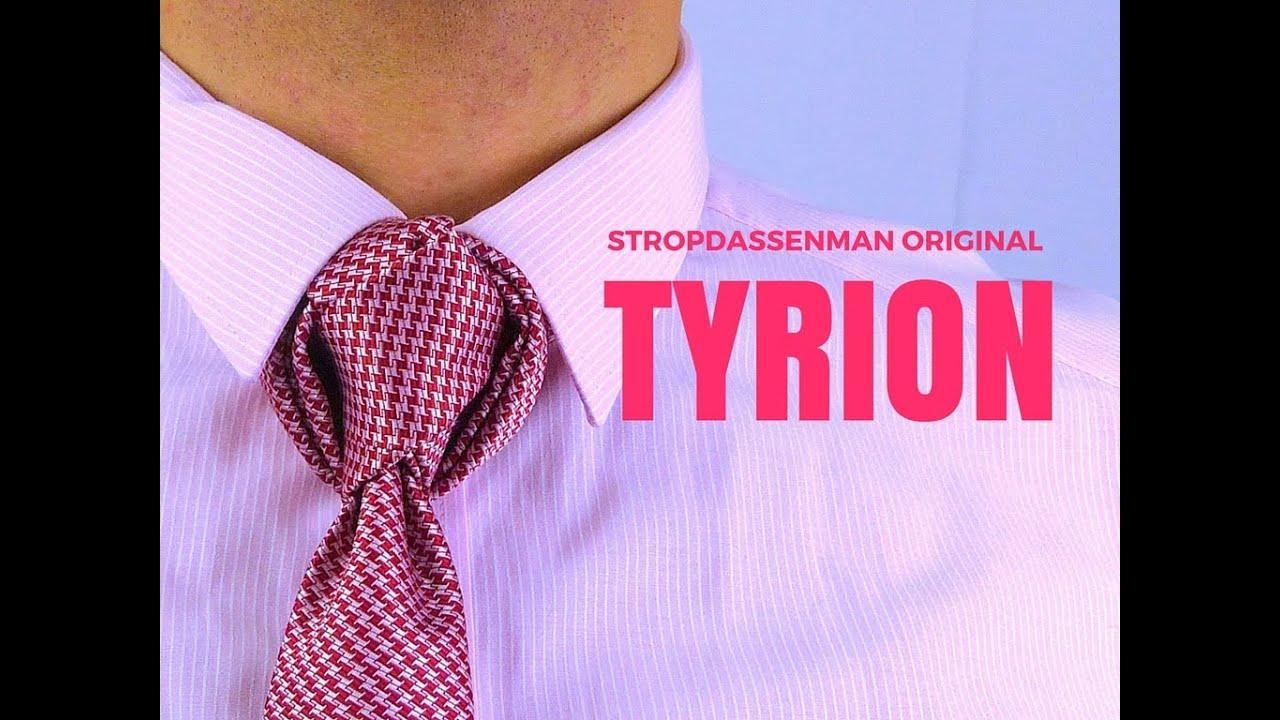 hoe knoop ik een stropdas