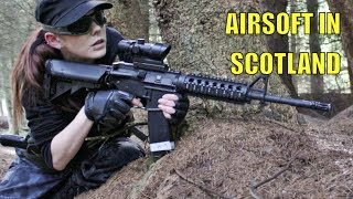 Airsoft War L86 M14 P90 M4A1 Section8 Scotland HD