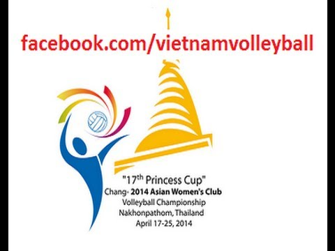 THAILAND - IRAN [2014 ASIAN WOMEN'S CLUB VOLLEYBALL CHAMPIONSHIP]