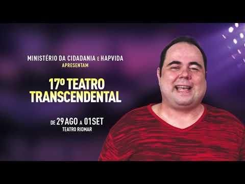 Chamada Teatro Transcendental - 17ª Edição