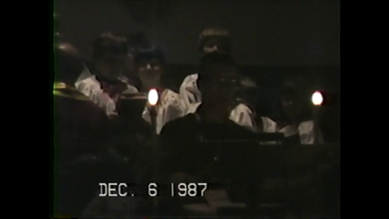 Christmas Cantata at R.P. First Presbyterian  12-6-87