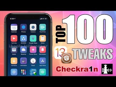 TOP 100 IOS 13 - 13.2.2 Cydia Tweaks For Checkra1n Jailbreak