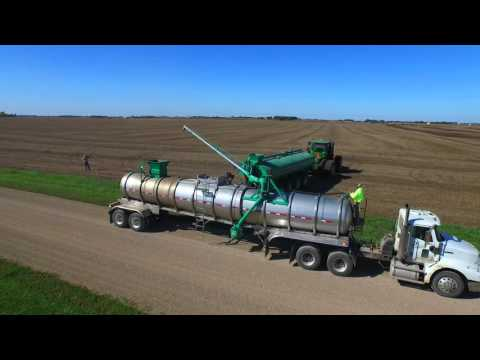Efficiency! Move liquid waste and manure longer distances more efficiently