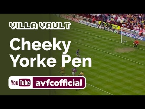 Dwight Yorke's cheeky penalty against Arsenal