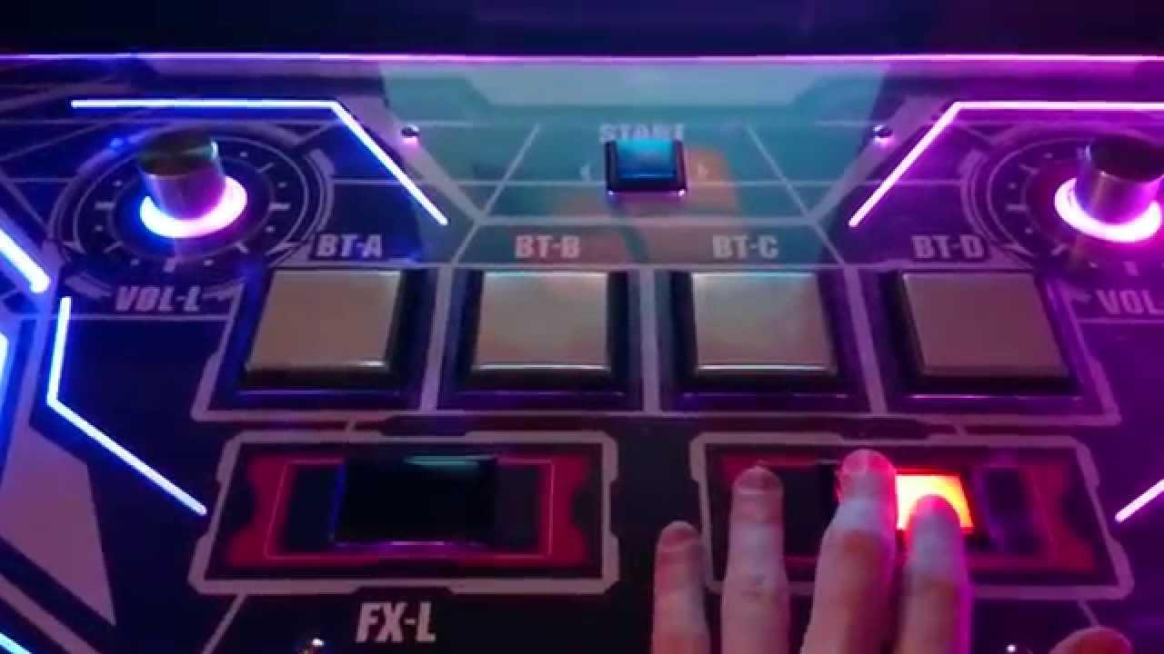 SVRE9 SoundVoltex Real Edition controller demo
