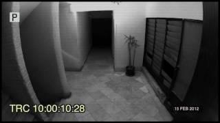 شبح يظهر من خلال كاميرا مراقبة لشركة بالمعادي