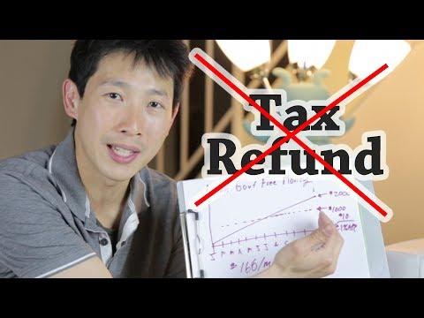 Why Getting a Tax Refund is Bad | BeatTheBush