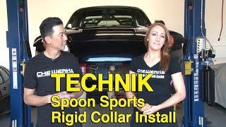 How to Install Rigid Collars - Honda S2000 - Spoon Sports - Technik