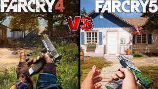 Far Cry 5 vs Far Cry 4 | Full Comparison