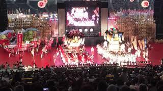 ふるさと祭り東京2019 新居浜太鼓祭り最終演技.