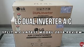 LG 1.5 Ton 5 Star Inverter Split AC,Copper, JS-Q18HUZD UNBOXING & REVIEW