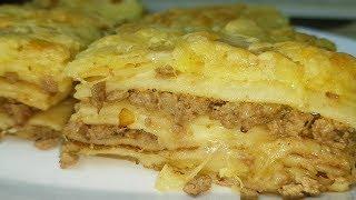 Блинная Лазанья, цыганка готовит. Gipsy cuisine.