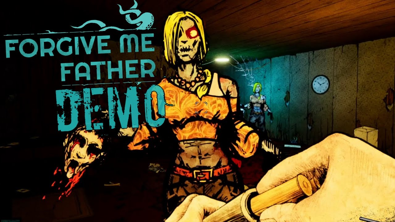 Download Forgive Me Father | a Lovecraftian Retro Horror Fps | Full Demo Gameplay