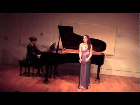 The Black Swan, Gian Carlo Menotti: Beverly Harlton and Sarah Jones, UL MTNA Halloween Concert 2011