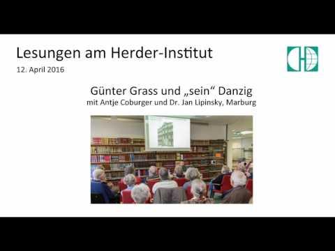 """Günter Grass und """"sein"""" Danzig"""